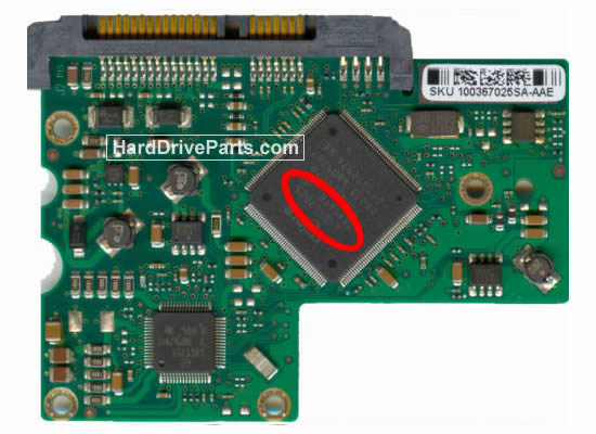 100367026 Placa Controladora HD Seagate ST3300822AS