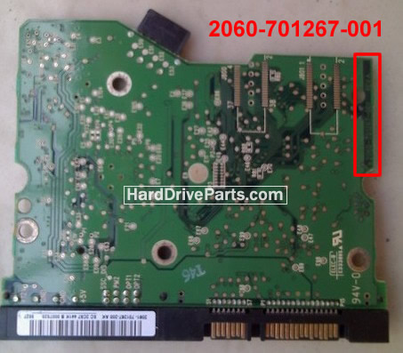 2060-701267-001 Placa Controladora HD WD WD2500JD
